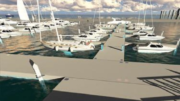 MARINA AND DOCK SYSTEM