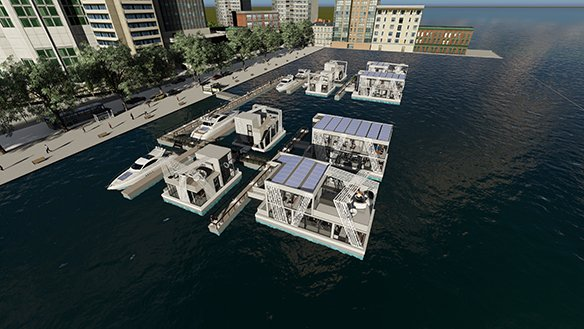 FLOATING OFFICE